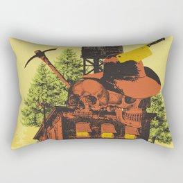 OLD TIMEY DARKNESS Rectangular Pillow
