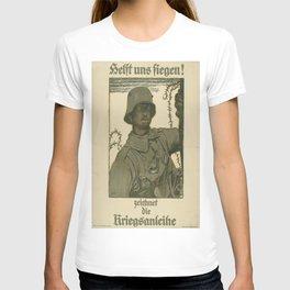 Vintage poster - German propaganda T-shirt
