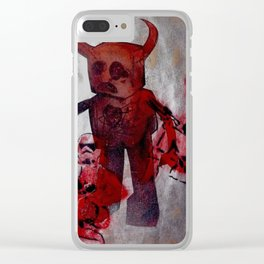 Storm Trooper Models versus Barry GBJC Clear iPhone Case