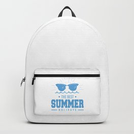 The Best Summer Holidays wb Backpack