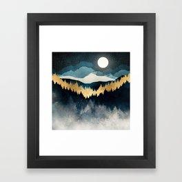 Indigo Night Framed Art Print