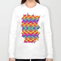 psychedelic Long Sleeve T-shirts featuring Psychedelic by Texture