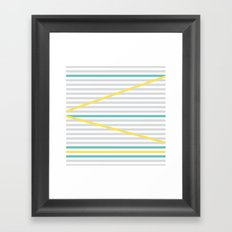 Zic Zac Minds Framed Art Print