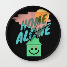 Home Alone Wall Clock