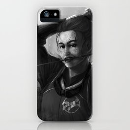 Holyhead Harpies Chaser Ginny Weasley iPhone Case