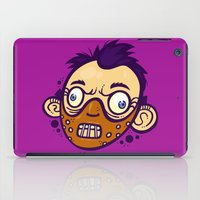 hannibal iPad Cases featuring Hannibal by Artistic Dyslexia