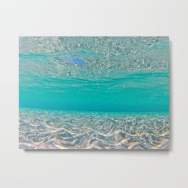 Turks and Caicos Water Metal Print