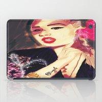 iggy azalea iPad Cases featuring Iggy Azalea by The Expression Studio
