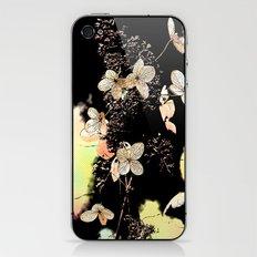 Filigrane Flower iPhone & iPod Skin
