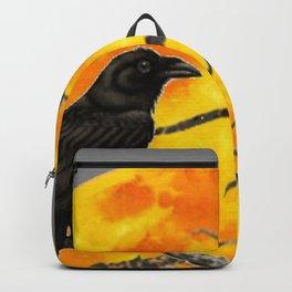 FULL MOON & RAVEN ON DEAD TREE Backpack