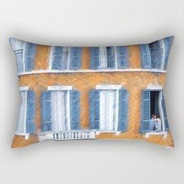 Look Through Any Window Rectangular Pillow