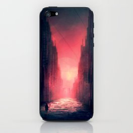 A Wizards Warning iPhone Skin