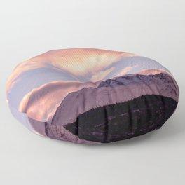Rose Serenity Sunrise Floor Pillow