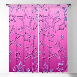 Shiny stars , stars , glitter Blackout Curtain