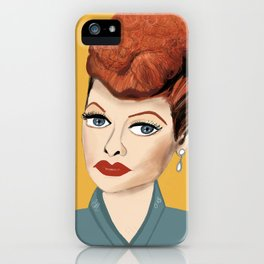 Lucille Ball iPhone Case