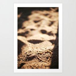 Heart of Stones Art Print