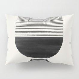Black Scale Shutter Mirror Pillow Sham