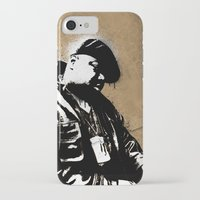 biggie smalls iPhone & iPod Cases featuring The Notorious B.I.G. - Biggie Smalls by Chad Trutt