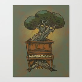 The Sweet Sound of Decay Canvas Print