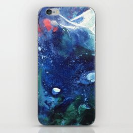 Bright Ocean Life, Tiny World Collection iPhone Skin