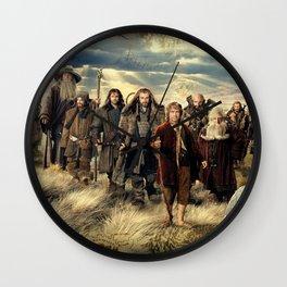 Going on an Adventure Wall Clock