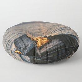 Seaside Serenity Floor Pillow