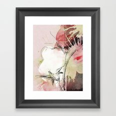 pink splendor Framed Art Print