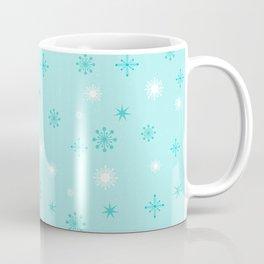 AFE Turquoise Snowflakes Coffee Mug