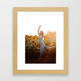 flower photography by Blake Cheek Framed Art Print