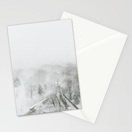 Snowy NYC Stationery Cards