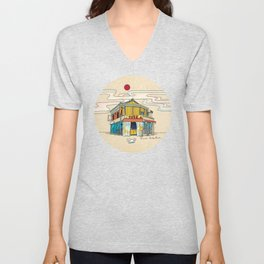 Urban Minhwa: Local Chicken Place A Type Unisex V-Neck