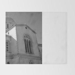 Greek Orthodox Cathedral 2 Throw Blanket