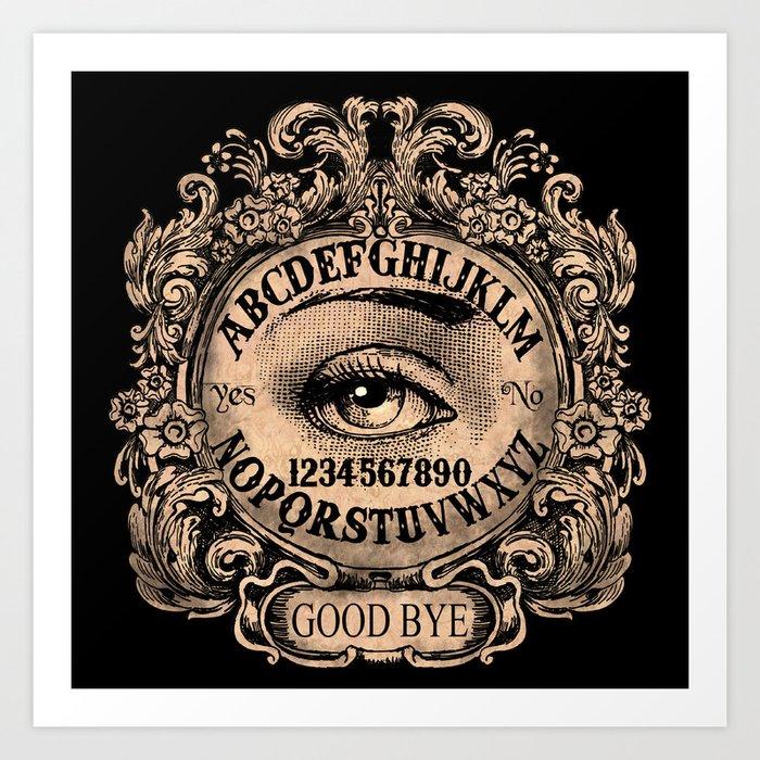 Mystic Eye Ouija Kunstdrucke