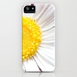 Daisy Flower Close-Up #1 #art #society6 iPhone Case