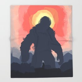 Kong Throw Blanket