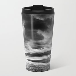 All alone on the Dovey Estuary Wales Travel Mug