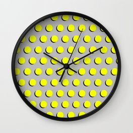 Clementine - Dots, Classic, Fluro, Neon, Bright, Summer, Pattern Cell Phone Case Wall Clock