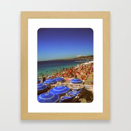 It's Nice in Nice Framed Art Print