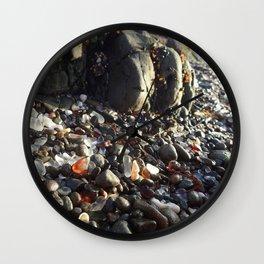 Glass beach Wall Clock