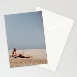 French Beach Stationery Cards