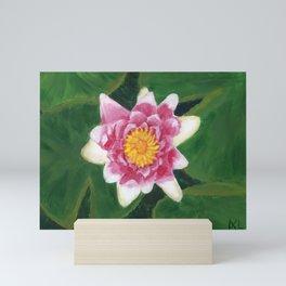 Water Lily Mini Art Print