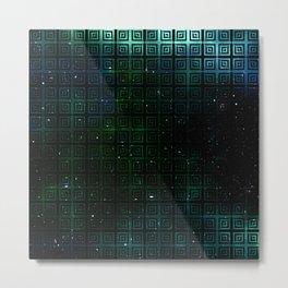 The Universe Squared Metal Print