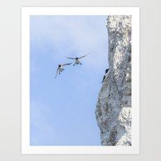 Aborted landing Art Print