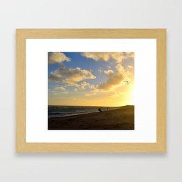 Beach life Framed Art Print