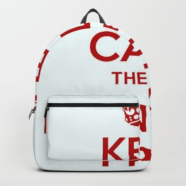 Keep Calm There's Money In T'Pot Backpack