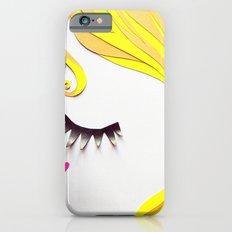 Girl Face Papercut iPhone 6s Slim Case