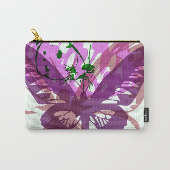 Abstract Butterflies 03 Carry-All Pouch