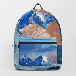 Creamy mountains Backpack