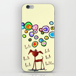 Bub bubles iPhone Skin