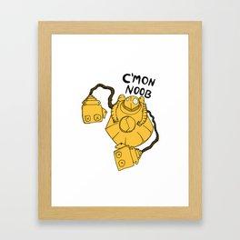 LoL - Funny Blitz Framed Art Print